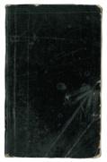 Lommebog med sort bind