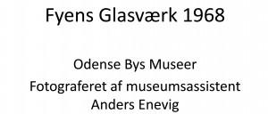 Fyens Glasværk 1968 Ikon