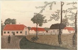 Prospekt af Glasværket ved Nørlund i aaret 1837 (2) (640x415)